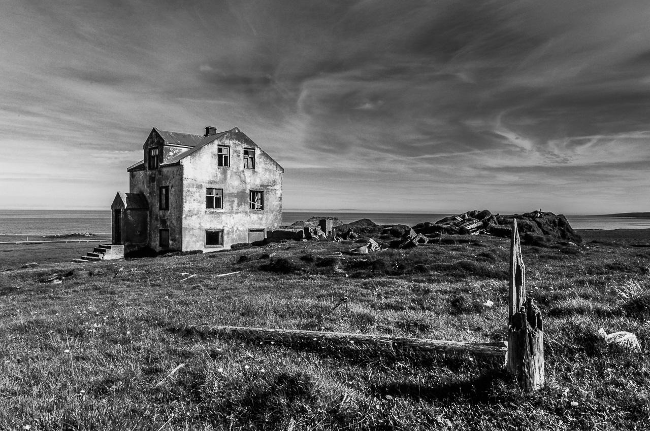 Opuštěné farmy na Islandu