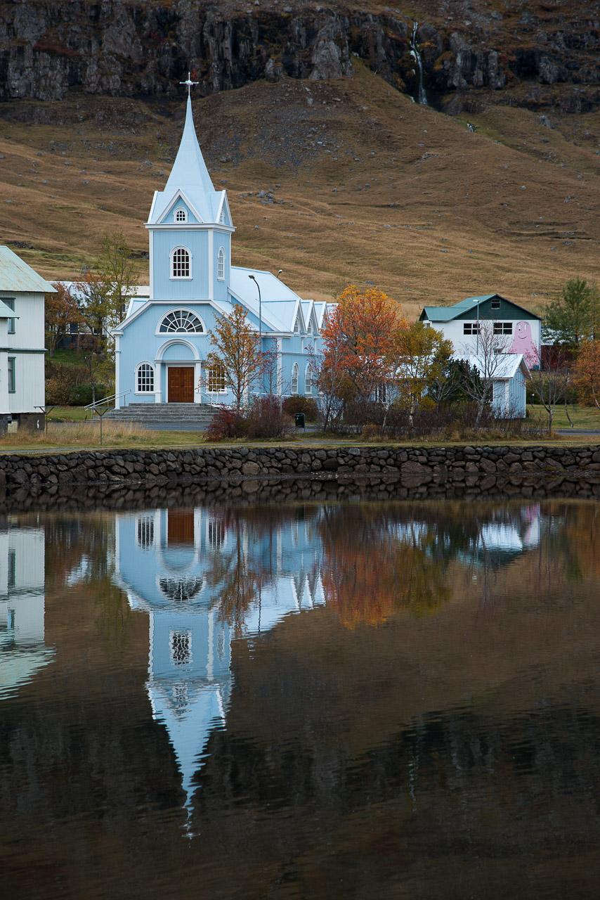 Kostely a kostelíky na Islandu